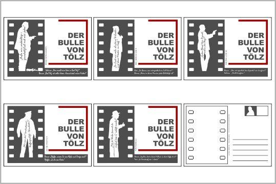 online shop postkarten set mit 5 karten in grau. Black Bedroom Furniture Sets. Home Design Ideas